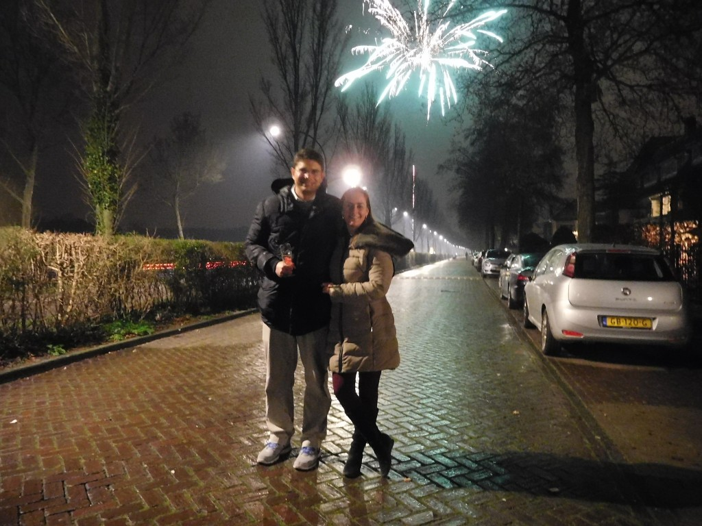 Mr. Gaudet and his wife on New Year's Eve in the Hague, the Netherlands, just one week after his admission into the U.S. Court of Federal Claims